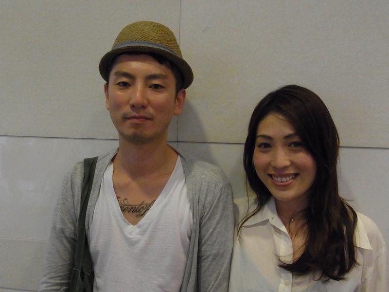 Salon ShizenのKoshi(左)とYoko(右)