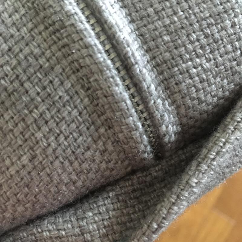 無印良品ソファベッドのボーエ・モーエンセン化計画:カバーを縫う