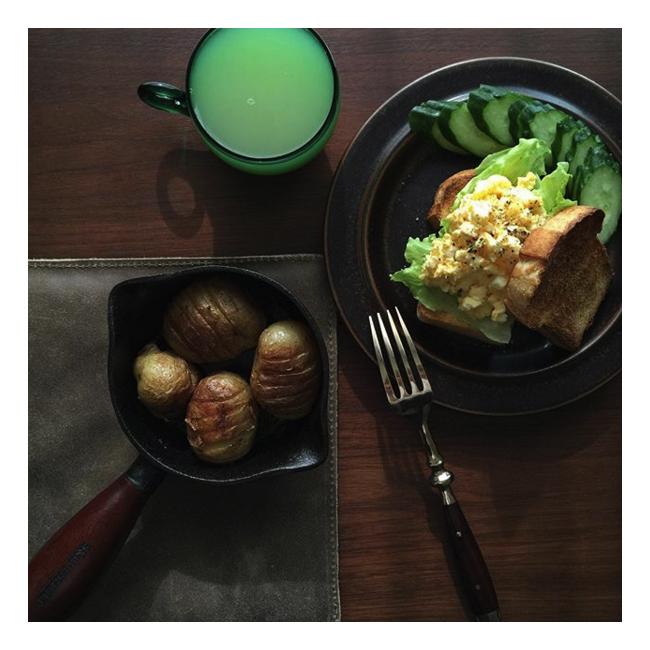 シェップスフルトのバターメルターとアラビアのビンテージ皿