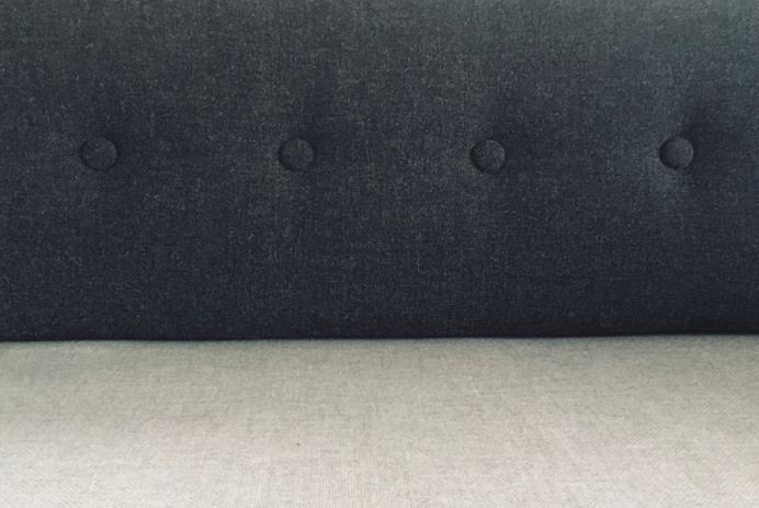 無印良品ソファベッドのボーエ・モーエンセン化計画:ボタンタフティング
