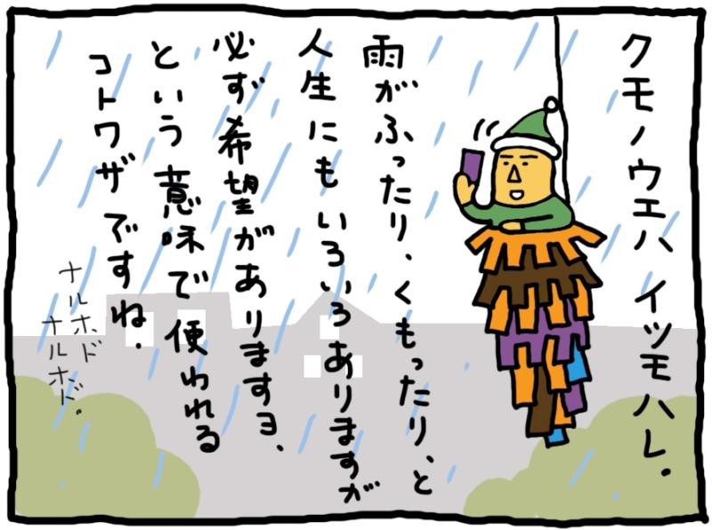 おしえてミノさん「雲の上はいつも晴れ」14 ©︎Yoko Kadokawa