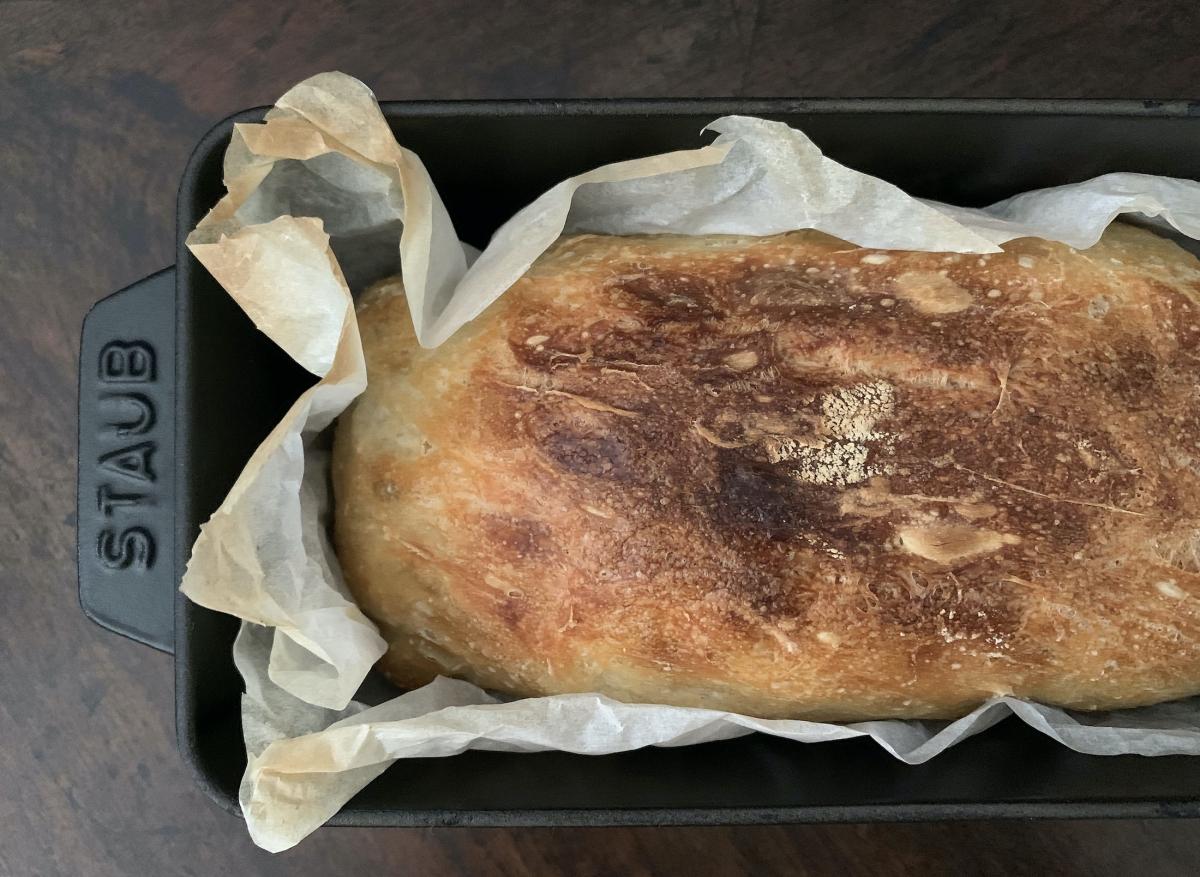 BBaking No-Knead Bread with STAUB, Photo by Yoko Kadokawa