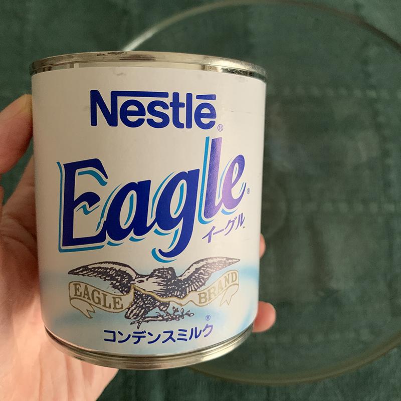 鷲のマークがかっこいいコンデンスミルク