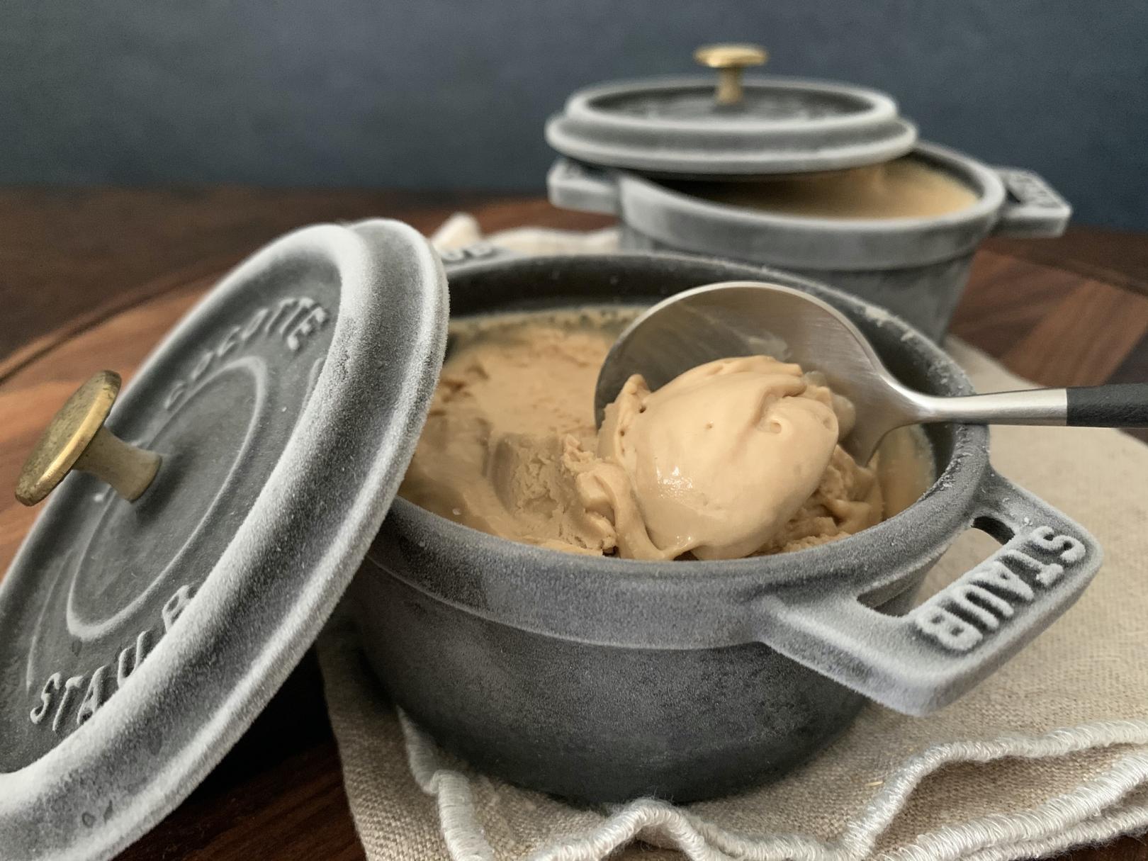 ナイジェラ・ローソンさんの凍らせるだけでできるコーヒーアイスクリーム